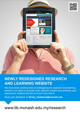 Check out the Library's NEW Research and Learning site!