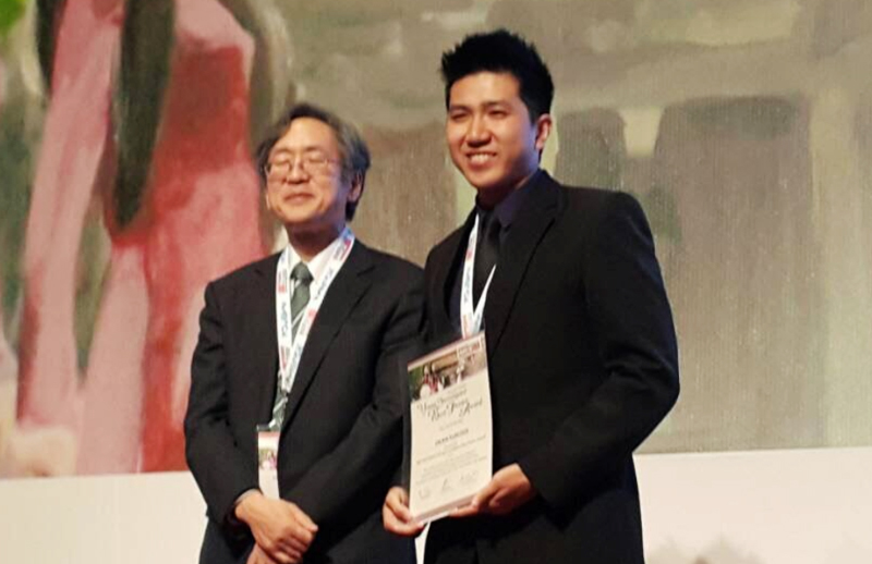 Dr Ooi Hean Sun won award at international conference
