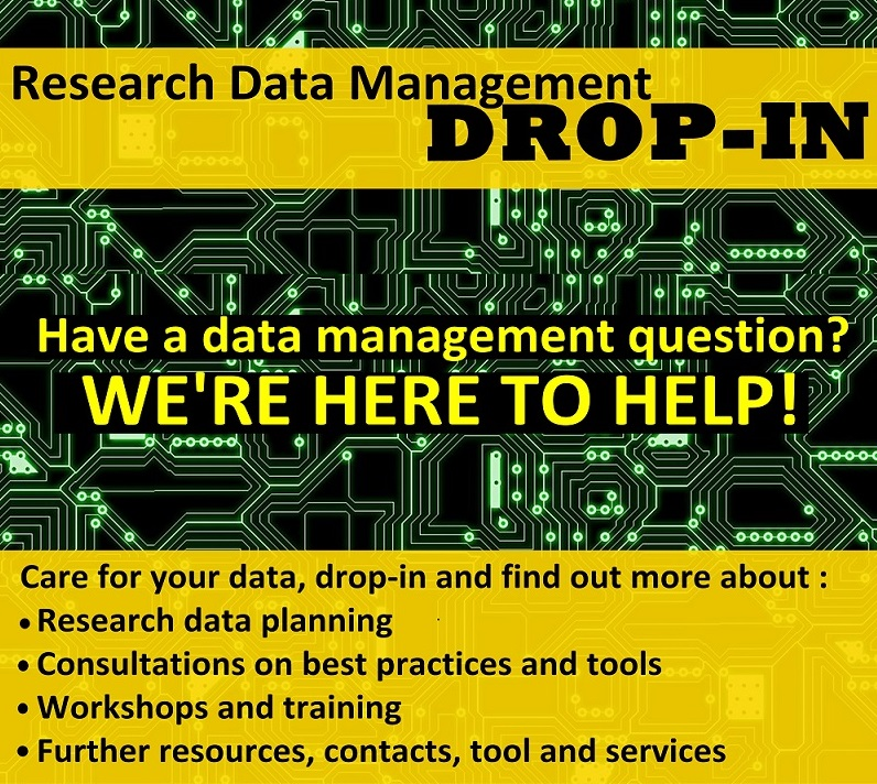 Research data management activities