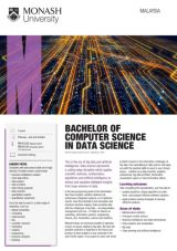 Bachelor of Computer Science in Data Science