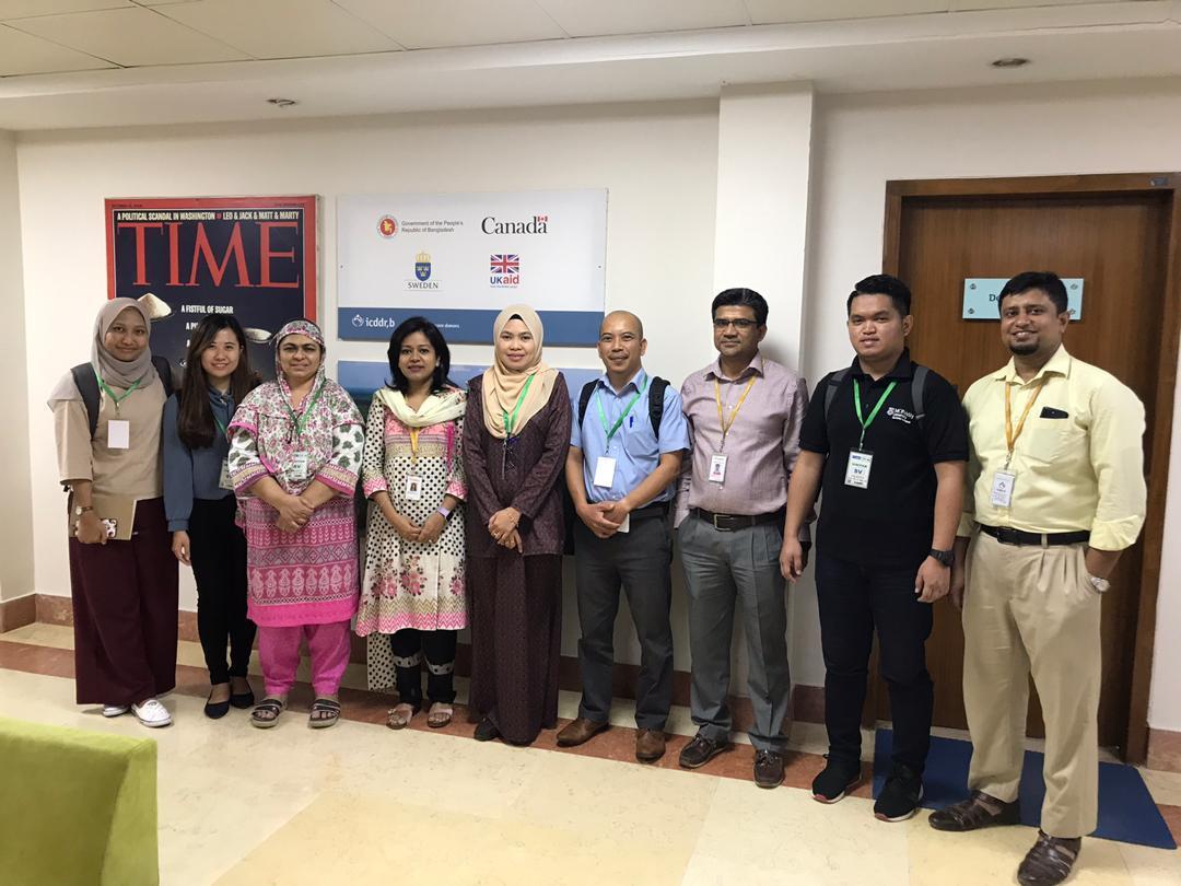 SEACO-Monash University visited icddr,b with icddb team.jpg
