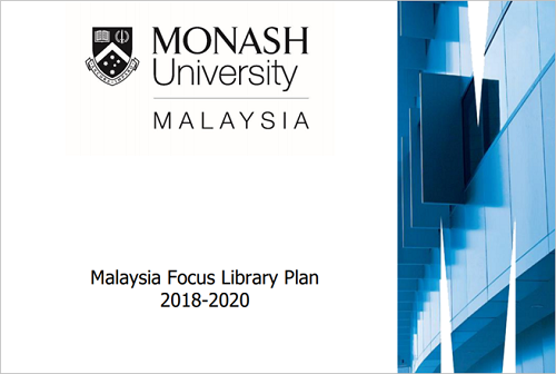 Malaysia Focus Library Plan 2018 - 2020