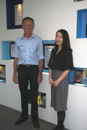 Professor Eduard Bomhoff and Dr Grace Lee - School of Business