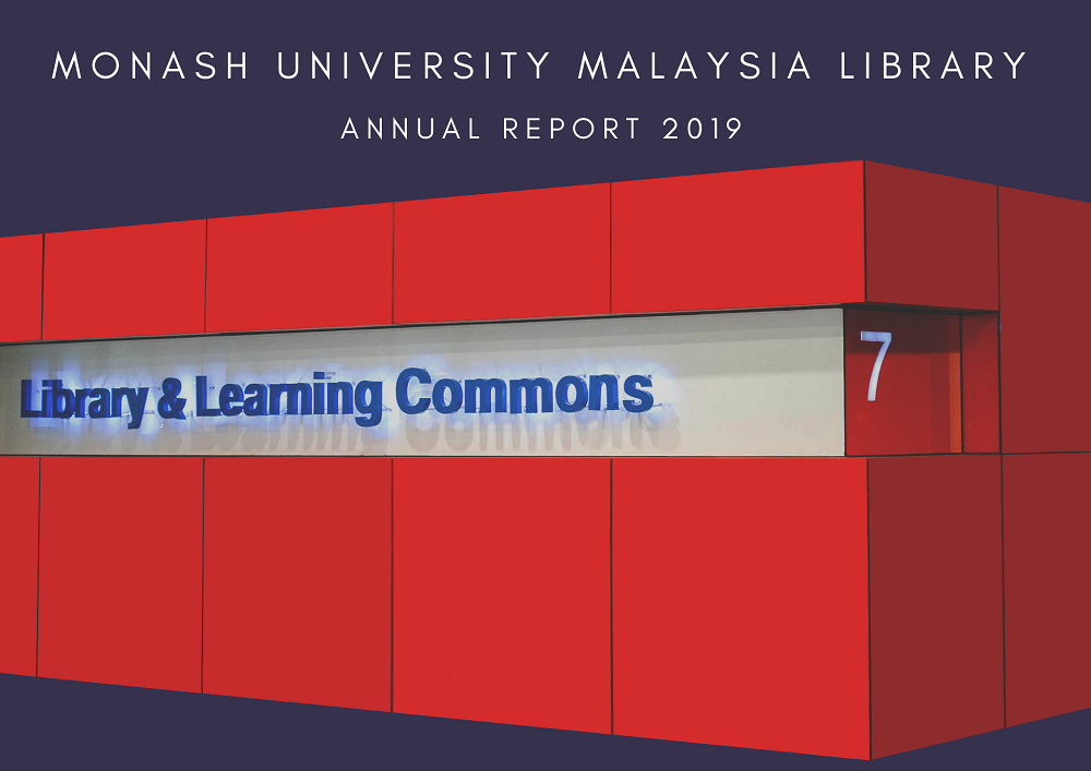 Library Annual Report 2019 is available online