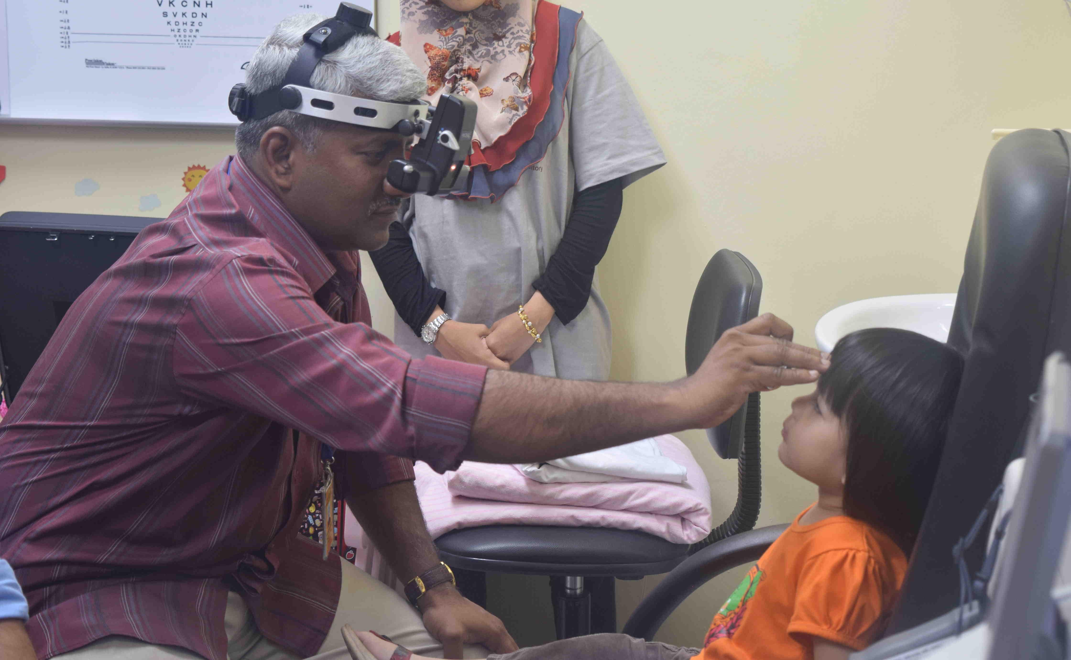 Segamat Paediatric Eye Disease Study (SEGPAEDS) - Check
