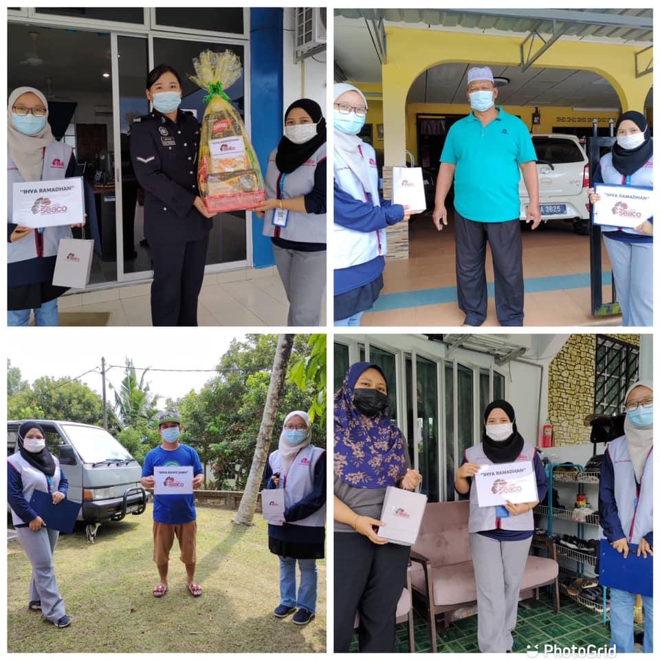 Ihya Ramadan program with the community in Mukim Bekok 1