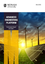 AEP Performance Report 2015 - 2017 brochure