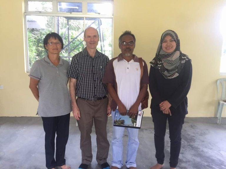 SEACO's Director meets Tok Batin Kampung Selai