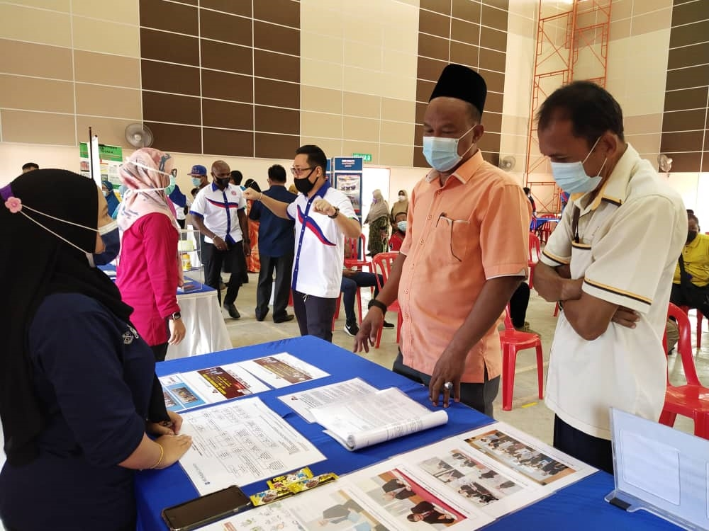 SEACO Booth Exhibition with Felda Pemanis State Legislative Assembly - Booth
