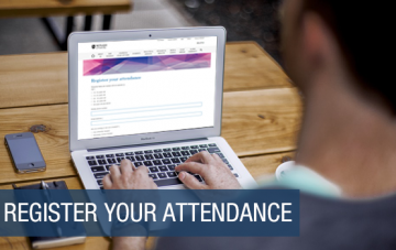 Register your attendance