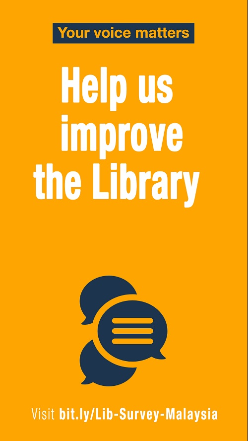 LIBRARY USER SURVEY 2019: YOUR VOICE MATTERS