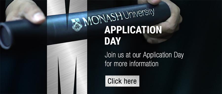 Monash Malaysia Application Day