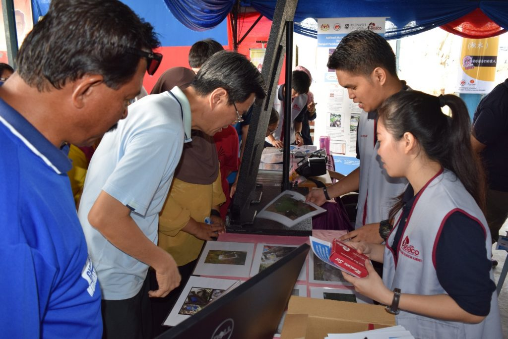 Soft launch of mDengue Application & Website in Segamat - Booth