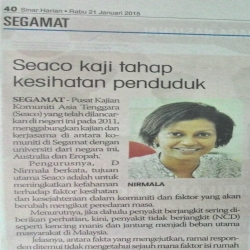 Feature SEACO in Sinar Harian Newspaper – 21 January 2015.jpg