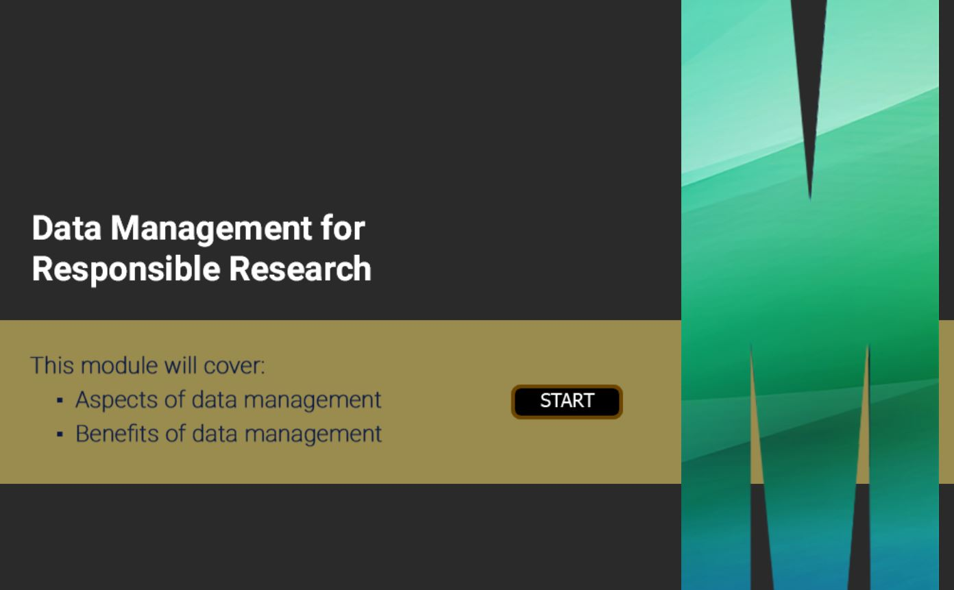 Research Data Management (RDM) module 2 is live!