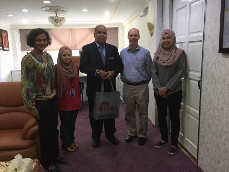 SEACO meets the new District Officer of Segamat