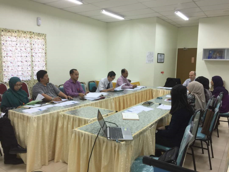 Meeting at Segamat Hospital
