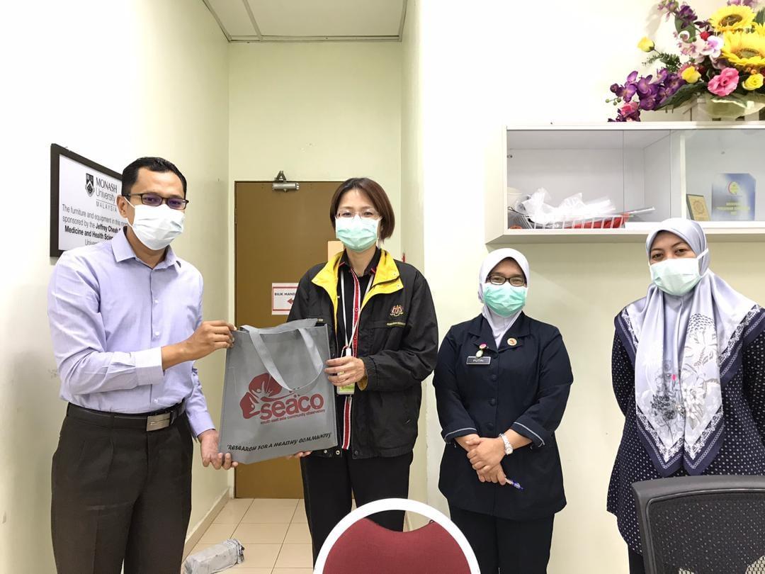 Visiting Head of Emergency Unit and Pathology Unit at Hospital Segamat