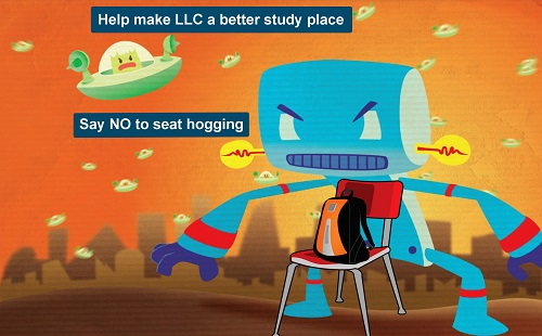 LLC anti-seat hogging campaign: survey 2017