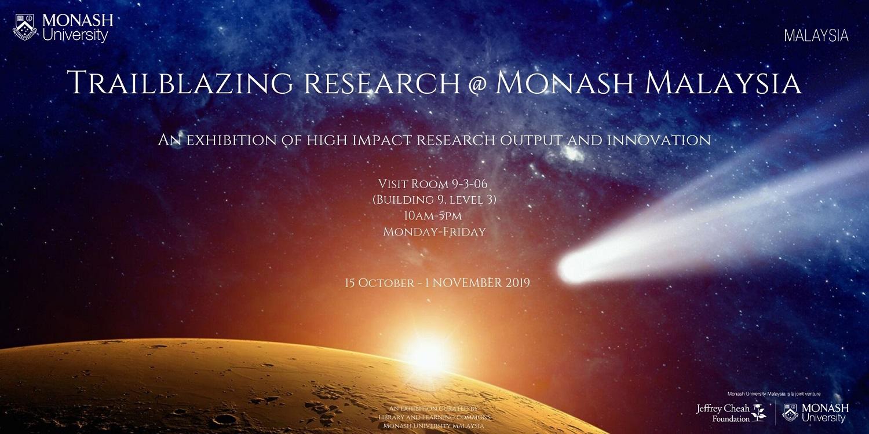 Trailblazing Research @ Monash Malaysia