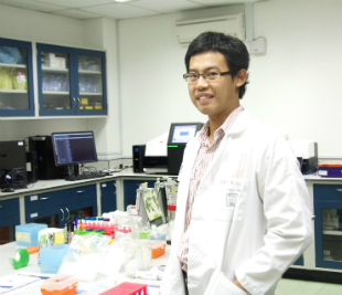 Dr Gan Han Ming - Research fellow at School of Science.