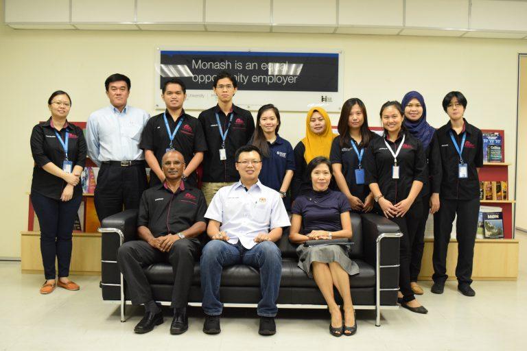 Visit by YB Datuk Chua Tee Yong