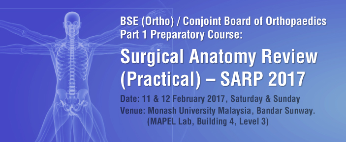 Surgical Anatomy Review (Practical) 2017 - Malaysia